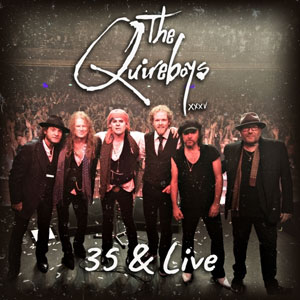 THE QUIREBOYS - 35 & Live