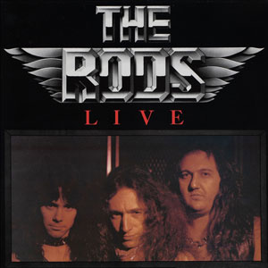 THE RODS -  Live