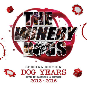 THE WINERY DOGS  - Dog Years: Live In Santiago