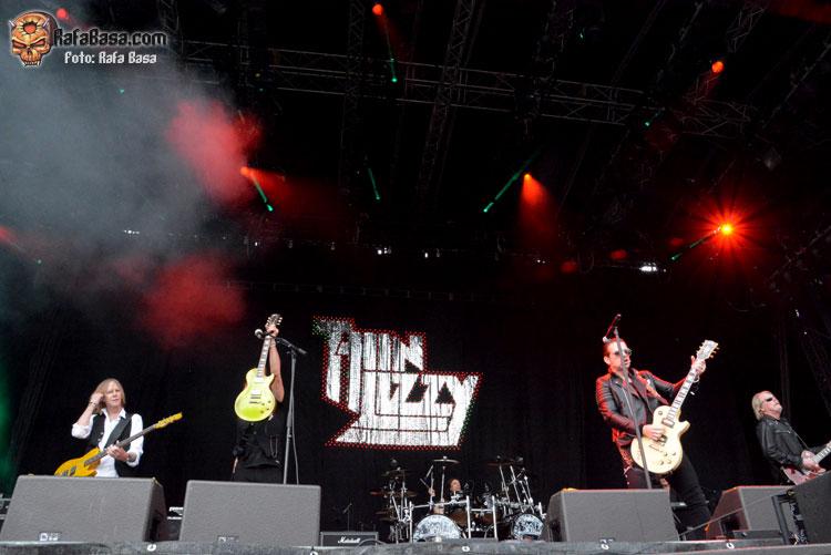 THIN LIZZY - Viernes 17 en Loreley y Sábado 18 en Bietigheim-Bissingen- Junio de 2016 - Alemania