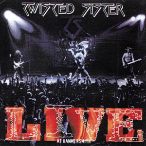 TWISTED SISTER -Live At Hammersmith 84