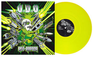 """Rev-Raptor"" – Vinilo amarillo"