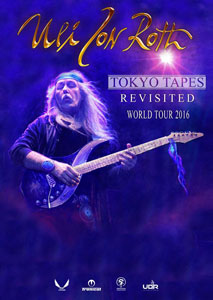 Uli Jon Roth - Tokyo Tapes Revisited World Tour 2016