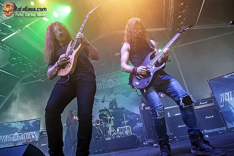 UNLEASH THE ARCHERS - Jueves 5, Viernes 6 y Sábado 7 de Julio - Parc de Can Zam - Santa Coloma de Gramenet - Barcelona