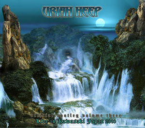 "URIAH HEEP - ""Official Bootleg Volume Three - Live In Kawasaki Japan 2010"