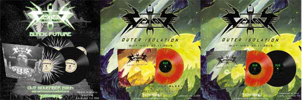 VEKTOR - Black Future y Outer Isolation