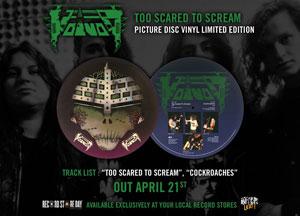 VOIVOD: Too Scared To Scream