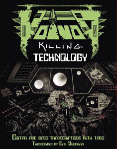 libro de partituras Killing Technology