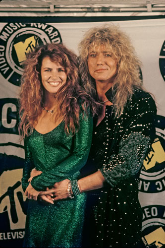 Tawny Kitaen y Coverdale