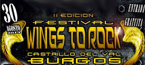 FESTIVAL WINGS TO ROCK