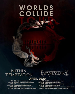 WITHIN TEMPTATION  Y EVANESCENCE