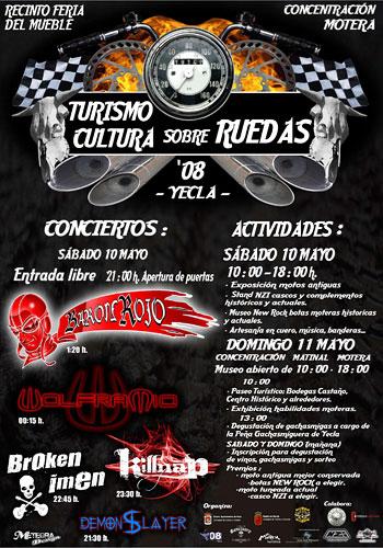 Fiesta presentación Yecla Rock