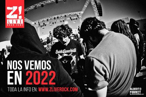 Z! LIVE ROCK FEST se aplaza al 9,10 y 11 de junio de 2022