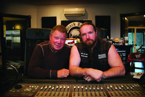 William Shatner y Zakk Wylde