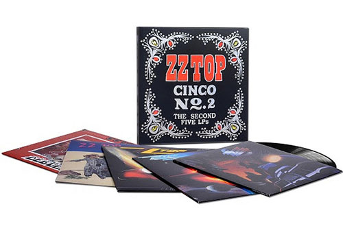 ZZ TOP - Cinco No. 2: The Second Five LPs